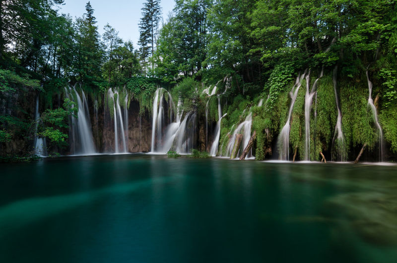 June 17, 2016 - Plitvice Lakes National Park, Croatia Croatia EyeEmNewHere Plitvice Lakes National Park Travel Travel Photography Beauty In Nature Forest Long Exposure Nature No People Outdoors Scenics Tranquil Scene Tranquility Travel Destinations Water Waterfall