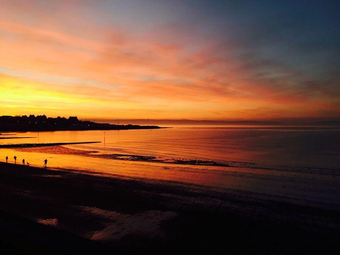 Ballyholme Sunset 2 Sunset Clouds And Sky Sunset Silhouettes Coastal
