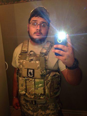 Bamf Tactical Tactical Gear Airsoft Gear Multicam Açu POWpatch JROTCrank Sergeant
