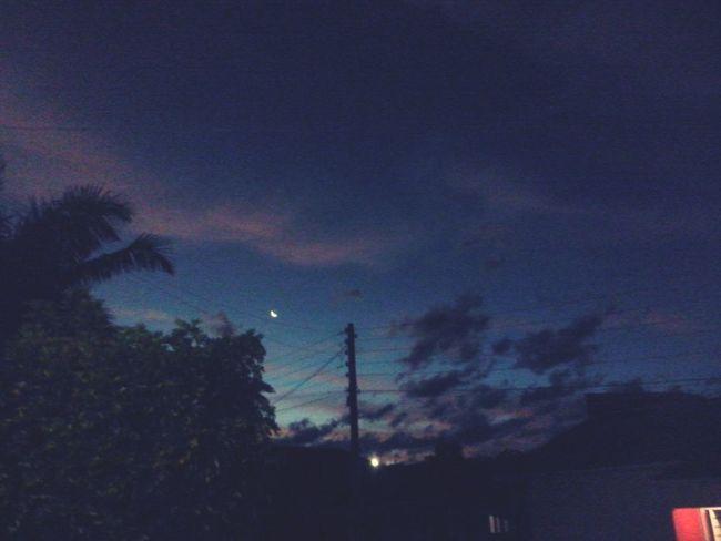 Noite linda. Relaxing