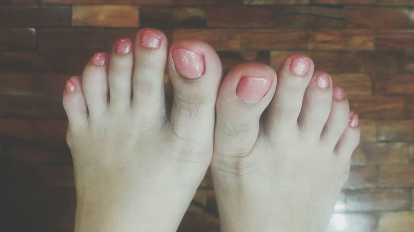 Human Body Part Nail Polish Fingernail Only Women Human Hand One Woman Only Human Finger Adults Only One Person Adult Indoors  People Red Manicure Close-up Women Nail Art Body Part Arts Culture And Entertainment Beauty Pink Pink Toe Nails Pink Toenails