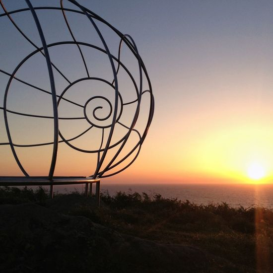 Cangas. Pontevedra. Spain. (Cabo Home's seashell) Shootermag Rias Baixas O Morrazo Caracola De Cabo Home Geometric Shapes