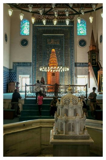 fountain inside the mosque Travel Photography Architecture Fountain Mosque at Yesil Camii , Bursa in Turkey