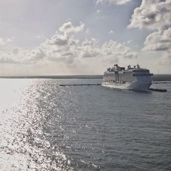 Costa Maya, Mexico. Carribean Cruise Cruising Cruiseship