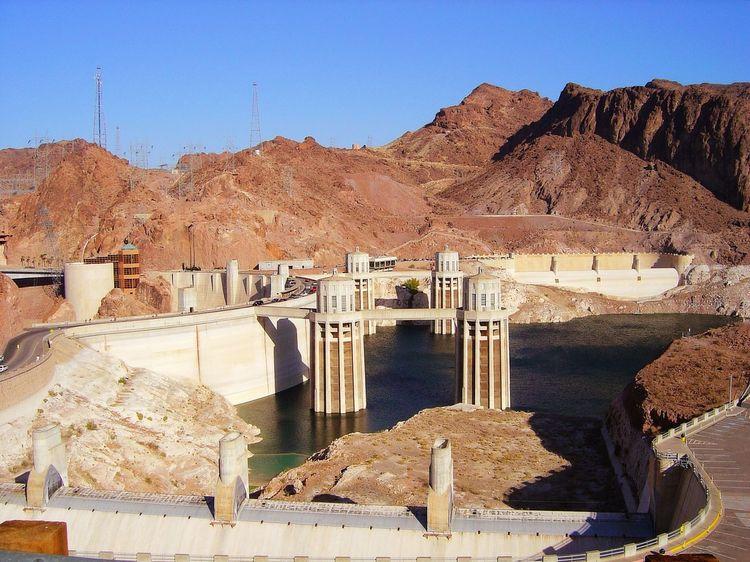 Hoover Dam Hydroelectric Power Architecture Travel Destinations EyeEmNewHere Desert