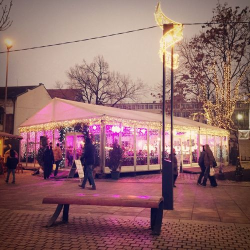 My Winter Favorites Night Lights Nashmarkt Deák Ferenc Tér Budapest Hungary City Life Citylife / Iphone6 /