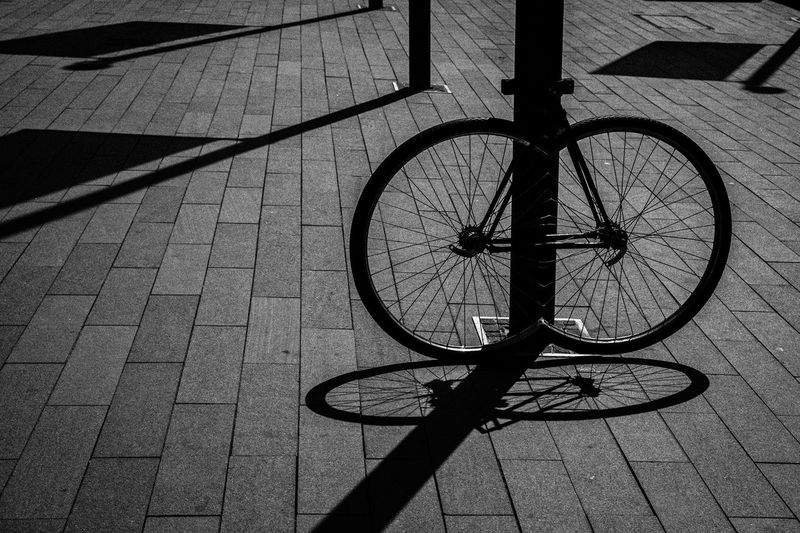 Bicycle In City