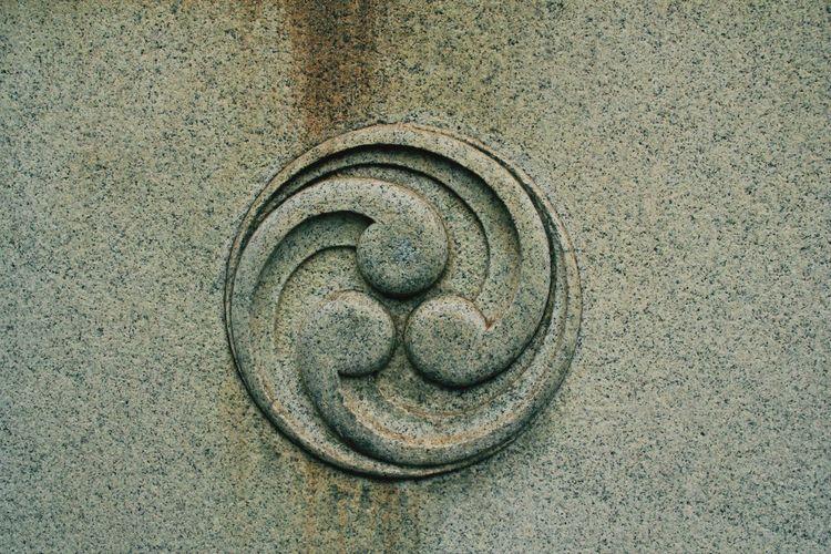 Close-Up Of Wall At Yasaka Shrine