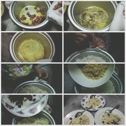 Having fun cooking together for the first time in a rice cooker and in a dorm! Big help Kak Ira and Fatin. Such a wonderful friends. Love you guys till jannah! Aammiinn.. DELS forever! First Eyeem Photo