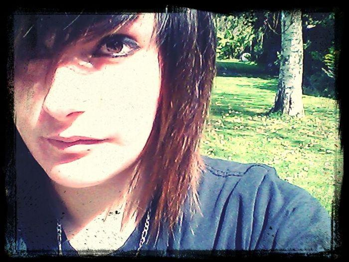 Portrait Auto Portrait Soleil dans les yeux... x.x