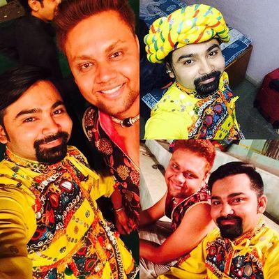 Ultimate Fun Dandiya Night Abhivyakti Abhivyakti2k15 Too Much Enjoyment Kedia Dress Gujrati Beard Instagood Instalike Instacool Instalove