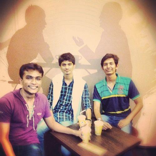 With Friends...!!!! Friends Party Teapost Gandhidham kutch coofee tea icetea