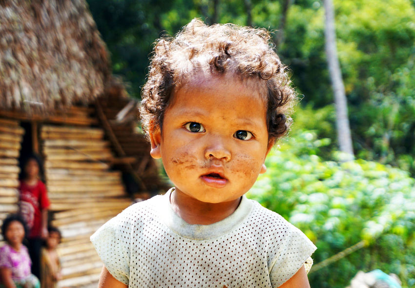 Meeting Orang Asli boy while hiking and trekking deep inside the rainforest of Hutan Grik, Perak. Aborigines Childhood Cute Baby Independent  Looking At Camera Nature Orang Asli People Portrait Small Village Live For The Story The Portraitist - 2017 EyeEm Awards