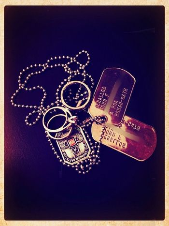 Marriage MySoldier Dogtags Love Army Marriage  Still Life Close-up Cool Fashion No People Studio Shot