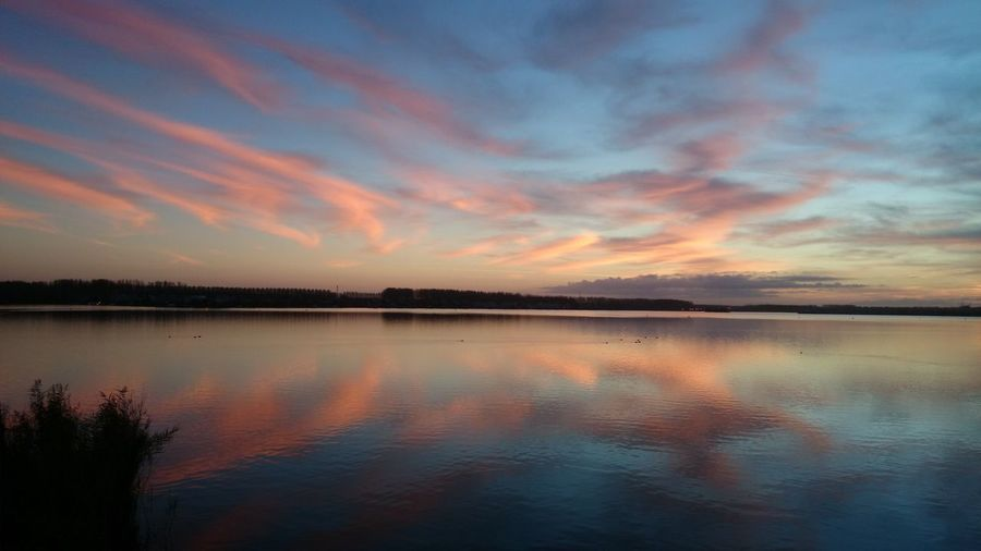 Sky Sunset Beauty In Nature Scenics - Nature Tranquility Cloud - Sky Reflection