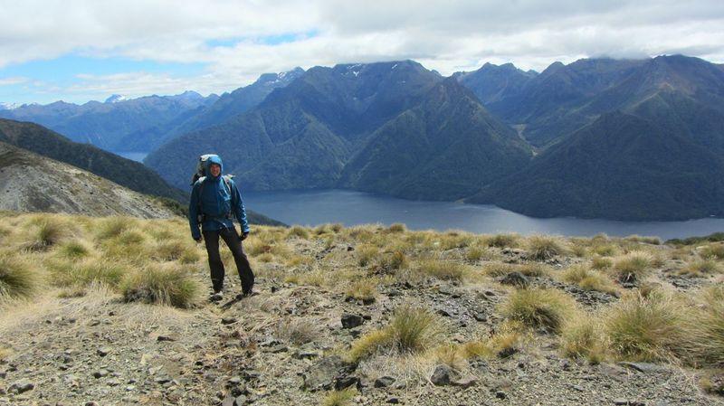 Remember my Trip in 2012, Longwalk Mountain View Mountians Philosopher's Path in Newzealand , Wonderful View Wonderful Nature