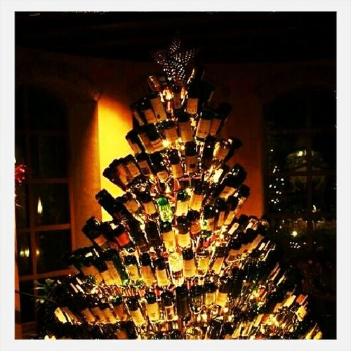 Liquor Christmas Tree