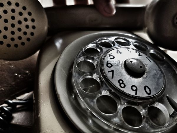 Telephone Technology Retro Styled Close-up Old-fashioned Rotary Phone Indoors  No People Gear Telephone Receiver Day Hands Retro Vintage Vintage Style Bestsellers Getty Images Premium Collection Sunlight Reflection BYOPaper! EyeEmNewHere Live For The Story EyeEm Selects