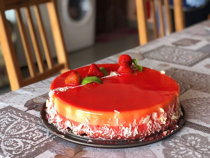 Le mie creazioni Passion Bakery Glassa Bavarese Bakeoff Dessert Cake Sweet Sweet Food Food And Drink Food Freshness Temptation Strawberry