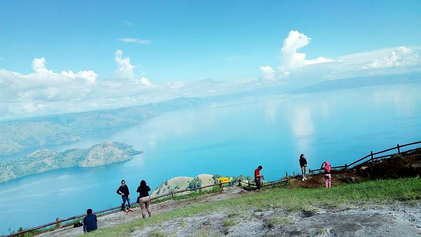 lake toba Lake People Sky Adult Outdoors Medium Group Of People Day Water Adventure Nature Tree Beauty In Nature Landscape Mountain Women
