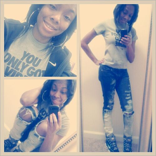 been had a check like #nike ! me today
