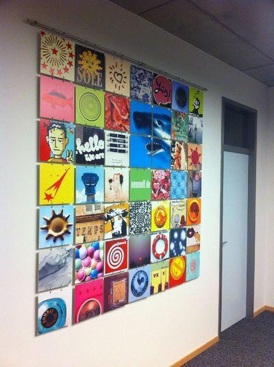 Fotowand at PLAN-S Werbeagentur GmbH, www.plan-s.com Fotowand