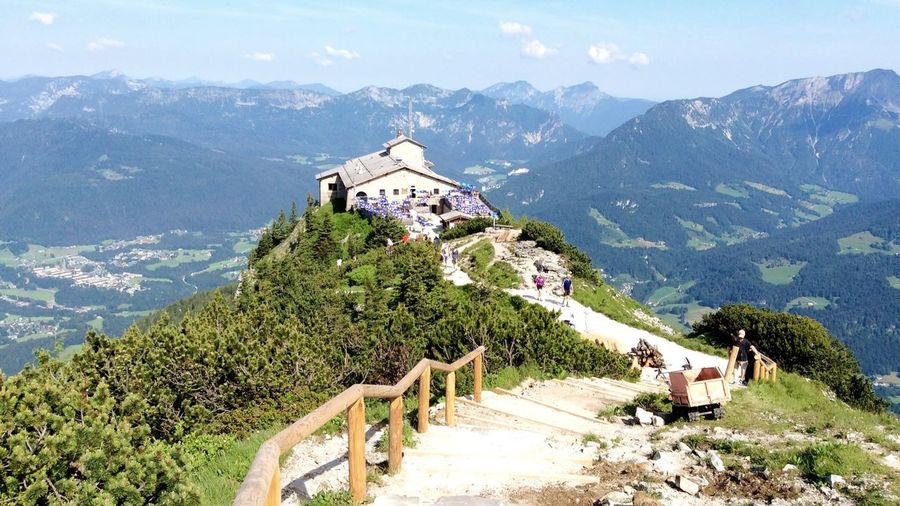 Travel Destination: The Eagle's Nest (Kehlsteinhaus), Obersalzberg, Berchtesgaden, Germany. Alps Mountain Mountain Range Beauty In Nature Sky Built Structure Historical Building History Historical Place Adolf Hitler Third Reich Germany Germany🇩🇪 EaglesNest Eagles Nest Berchtesgaden Obersalzberg Kehlsteinhaus (Eagle's Nest) Nature Scenics Scenic Scenic View The Great Outdoors - 2017 EyeEm Awards The Great Outdoors - 2017 EyeEm Awards Marylandisforcrabs🦀