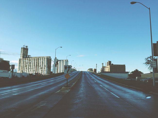 The Way Forward Street Light Road Viaduct