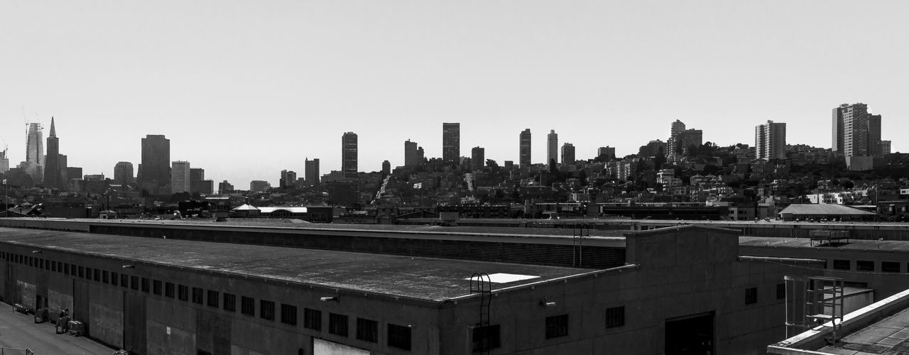 Architecture Skyscraper City Cityscape Building Exterior Urban Skyline Business Finance And Industry Built Structure Travel Destinations San Francisco Skyline San Francisco In Black And White San Fransisco Cityscape Black & White Background Horizon Lost In The Landscape
