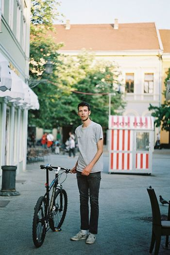Bike Ride Analogue Photography