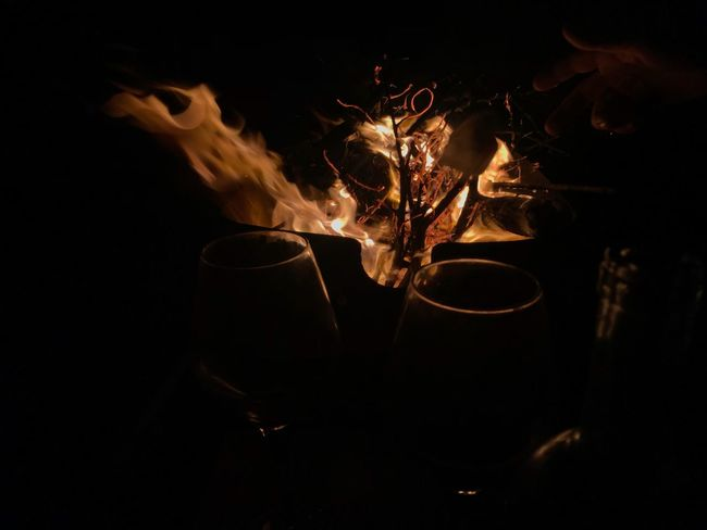 #Radhime #albania #burning Flame Heat - Temperature Night No People Motion Close-up Drink