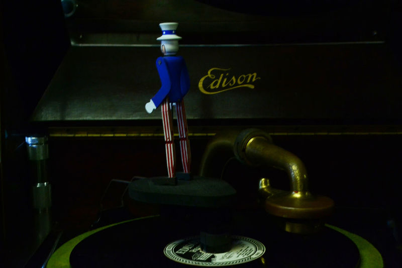 Edison Dancer and Music by Kesi J. Marcus Beautiful Classic Close-up Day Edison Faucet Illuminated Indoors  Museum New Jersey No People Tap The Still Life Photographer - 2018 EyeEm Awards