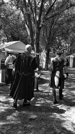 Renfest...reenacting the past Renaissance Fair Renaissance Festival Renaissance Adult Fun Adult Men Stroll Through Nature Strolling Through Time This Is Masculinity Focus On The Story