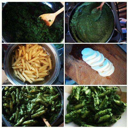 Dinner Spinach Yummy Cook  Obiadek Pyszny Szpinak Gotujemy Mniam Foodporn