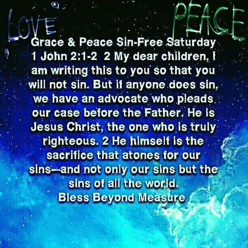 Grace & Peace Sin-Free Saturday