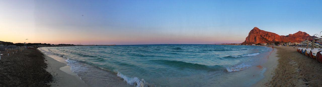 Sea Beach Beauty In Nature Water Nature Scenics Sunset