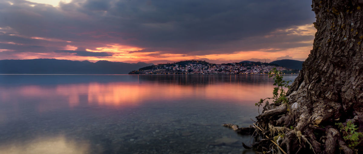 --Memories of Ohrid-- Atmospheric Mood Beauty In Nature Calm Lake Lakeshore Ohrid Outdoors Reflection Scenics Tranquil Scene Tree Water