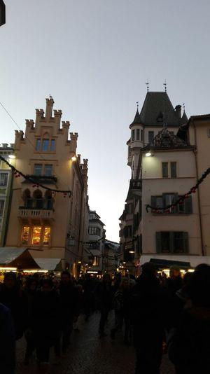 Seeing The Sights Bolzano - Bozen Südtirol Trentino Alto Adige Hello World Mercarino Di Natale Bozen