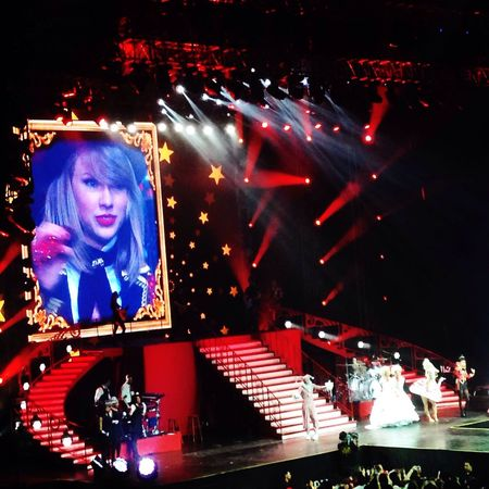 RED TOUR JAKARTA by TAYLOR SWIFT was amazing tonight?❤️ First Eyeem Photo Eye4photography  Enjoying Life Streetphotography