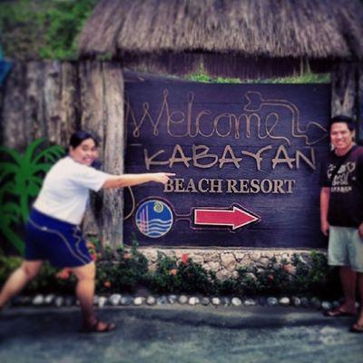 Goofing around with Kit Kabayan Itsmorefuninthephilippines Laiya Batangas wanderlust travelphilippines travel discoverphilippines