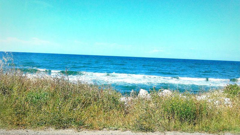 Deniz Kum Kumsal 🌊🏄 Güneş 🌞 Doğa Mis Hava Tatil Gezinti First Eyeem Photo