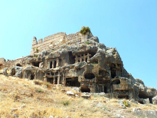 Tlos Antik Kenti, Fethiye- Türkiye Travel History Day Nature