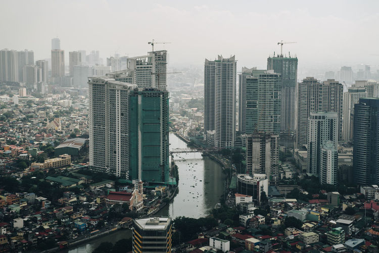 Manila Manila, Philippines Skyscraper Philippines Nikon City Cityscape Building Exterior