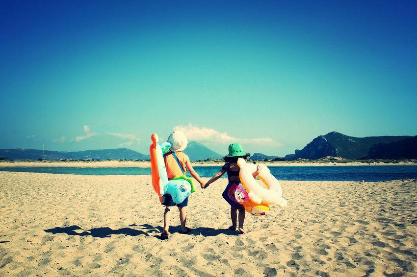 RePicture Travel Kids Summer Beach Greece Voidokoilia Voidokoilia_beach Sand Sea The Traveler - 2015 EyeEm Awards