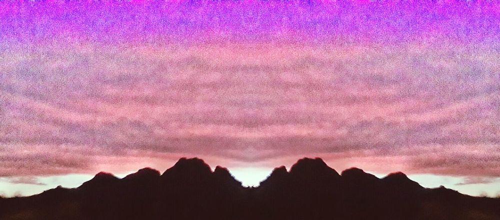 Mountain View Mountain Sky Sunset