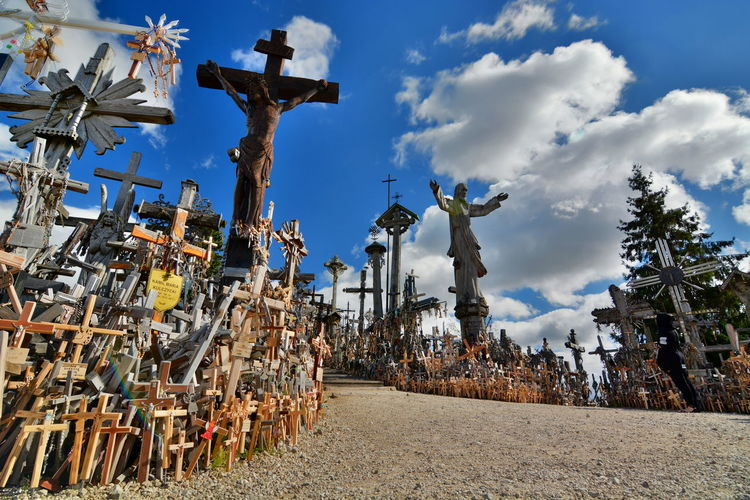 Hill of crosses Catholic Catholicism Christian Christianity Europe Faith Hill Hill Of Crosses Landscape Letuvia Lithuania Lithuania Travel Tourism Lithuania Travel Travel Photography Šiauliai