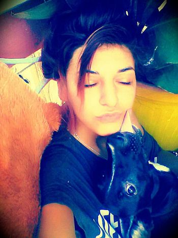 Me And My Dog ❤ Crazy Love
