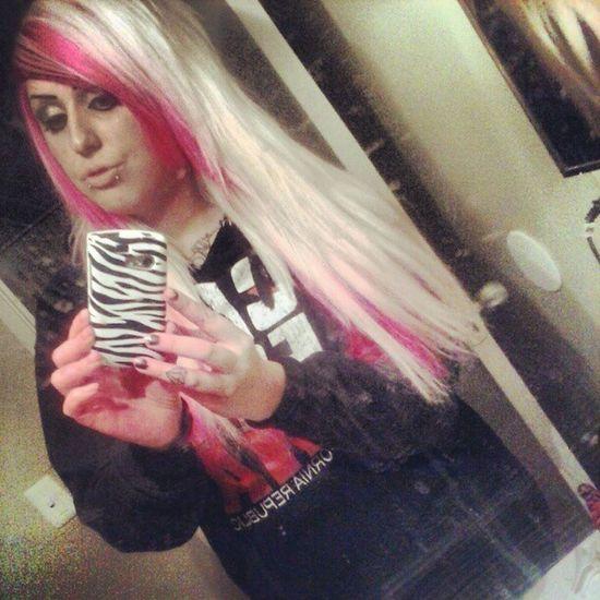 Pinkhair Happyhair Fresh Bbqtime saturdaynightstattoos