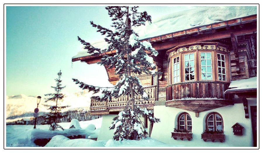 { Winter in Courchevel } ❄ - Hiver Alpes Mountain Courchevel  Courchevel In Photos  Alps Mountains Ski Urban Landscape Urbanphotography Urban Photography Savoie French Alps EyeEm Best Shots EyeEm Best Shots - The Streets EyeEmBestPics Travel