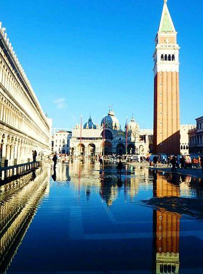 Italian Venezia Venezia Italia Italy Italian Place Sanmarco Walking Around Mirror Pic